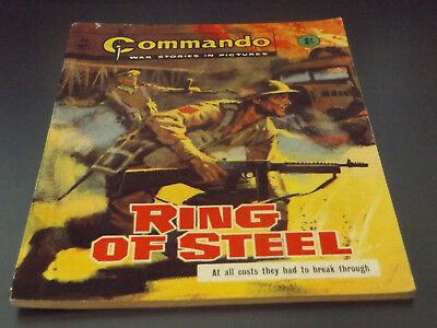 Commando War Comic Number 201 !!,1966 Issue,good For Age,52 Years Old,v Rare.