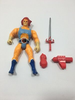 1985 Telepix Thundercats LION-O Action Figure Vintage Toy With Accessories