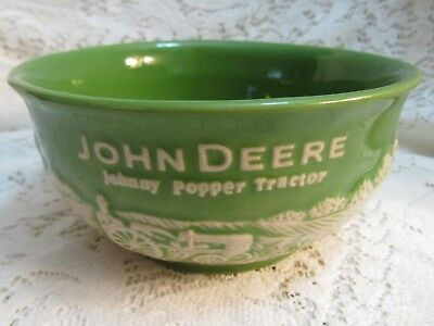 "Wonderful John Deere ""Johnny Popper Tractor"" Bowl"
