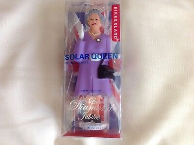 Kikkerland Solar Queen Diamond Jubilee Edition Purple
