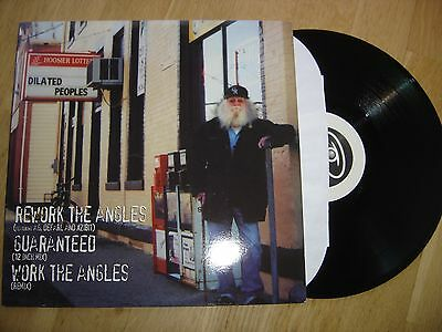 """US Rap 90ies: Dilated Peoples-Rework the Angles (12"""")(1999) AG Xzibit"""
