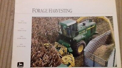 John Deere 10 series self propelled forage harvester brochure