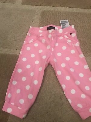 Designer Tommy Hilfiger Baby Girl Trousers 6/9 Months