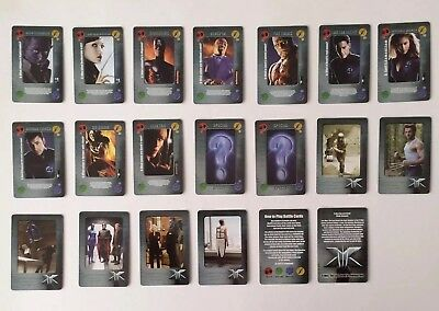 Daily Mail X-Men The Last Stand Battle Cards 2006 Full Set 36 Cards New