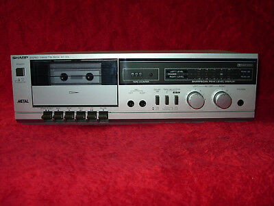 Sharp RT-155H Stereo Cassette Deck
