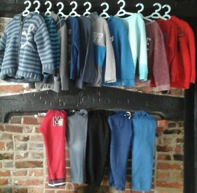 Boys clothes bundle age 4-5 years winter wardrobe Next, H&M & many more