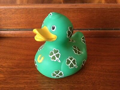 BUD Collectable Luxury Rubber Duck - CLOVER PATCH (2009)