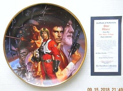 Hamilton Collection Star Wars Plates - Original Trilogy