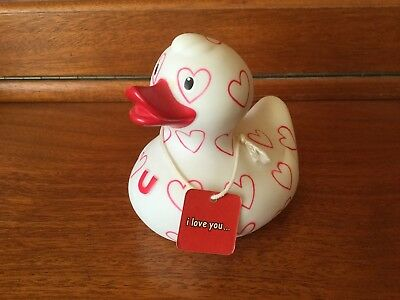 BUD Collectable Luxury Rubber Duck - SWEET HEART (2008)