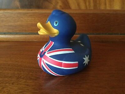 BUD Collectable Luxury Rubber Duck - AUSSIE (2007) rare and retired.