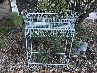 Metal Garden Planter Stand Display Trough