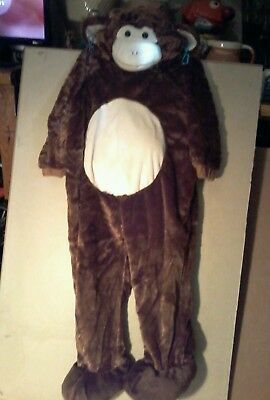 Toddler Halloween Costume Monkey  size 2t-3t