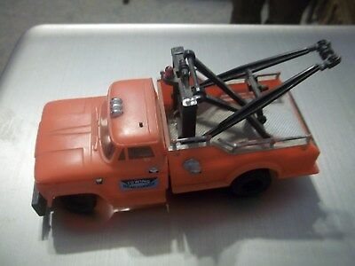 1966 G.m.c. Plastic Toy Wrecker Tow Truck Recovery Truck