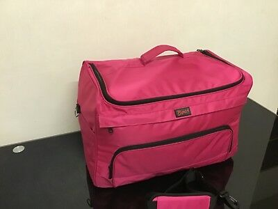 Hairdressing Beautician Mobile Bag Hair Tool Case/Carry Strap Pink/Purple/Black