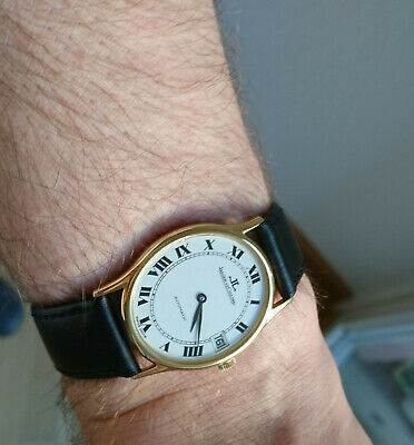 Jaeger LeCoultre Ultra Thin 5002.42 Kal.900 Vintage Automatic Luxury Watch 1980