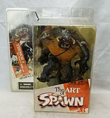 Mcfarlane Spawn The Art of Spawn Series 26 Tremor 3 Bible Art Action Figure