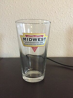 Midwest Brewing Supplies Pint Glass