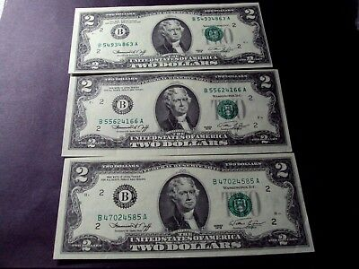 (3)  1976  $2  Federal Reserve Notes