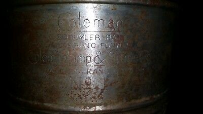 VINTAGE COLEMAN LAMP & STOVE CO NO. 1 FUNNEL with wire filter