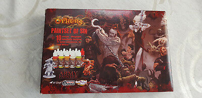 Army Painter - Zombicide - Paint Set - the others - paintset of sin