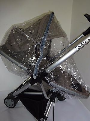 New RAINCOVER Zipped to fit Quinny Zapp Xtra/ Zapp Xtra 2 Pushchair Seat Unit