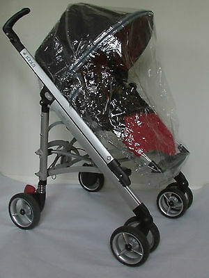 New RAINCOVER Zipped to fit Bebe Confort Loola Seat unit & Carrycot Pram