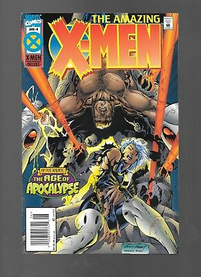 Amazing X-Men #4 (Jun, 1995) After Xavier: the Age of Apocalypse VF/NM 9.0