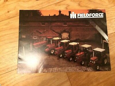 International Harvester IH Fieldforce range 533-6788 tractor brochure Case,