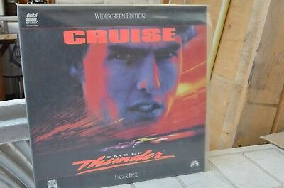 Days of Thunder - Tom Cruise - Widescreen Edition Laserdisc mmoetwil@hotmail.com