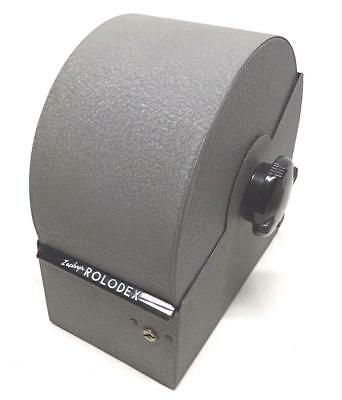 "Nice Vintage ""ZEPHYR  ROLODEX""  50's ~ early 60's Clean & very Nice Condition !!"