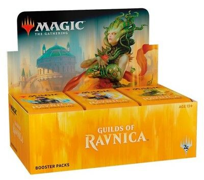 Magic the Gathering, Guilds of Ravnica Display Box, Repack, Englisch, 36 Rares