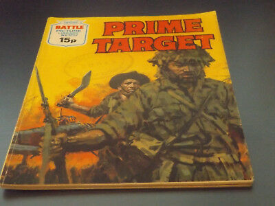 BATTLE PICTURE LIBRARY NO 1257,dated 1979!,GOOD FOR AGE,VERY RARE,39 yrs old.