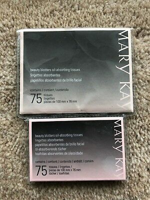 Lot of 2 Mary Kay Beauty Blotters 150 total! NEW!