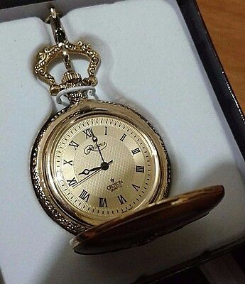 Telephone Mens Pocket Watch W/ Gold Dial Alexander Graham Bell 1876 !!!