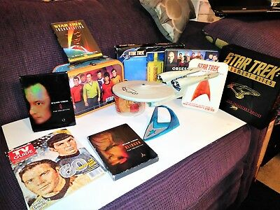 Lot Of Star Trek Dvds , Episodes, Ncc - 1701 Ship, Lunchbox, Tribble