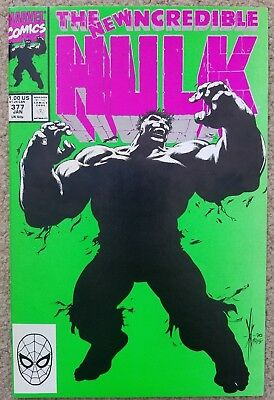 The Incredible Hulk 377 -- Great Condition!!
