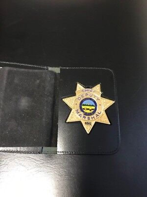 Chief Deputy Marshal Badge State of Ohio