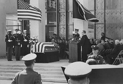 The State Funeral Of Dwight D. Eisenhower
