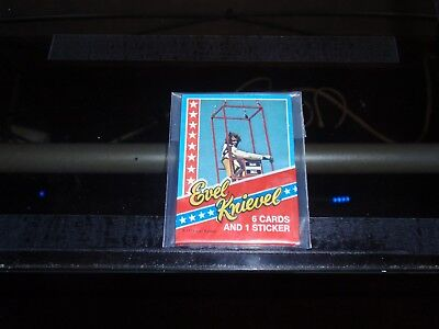 1974 Topps Non Sports-Evel Knievel Unopened Cello Pack-Mint-Rare Test Pack!!!