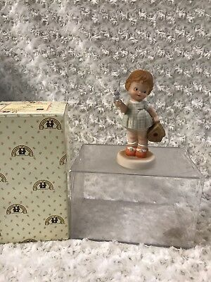 """Enesco 1991 """"Welcome To Your New Home"""" MY911 Memories of Yesterday Figurine"""