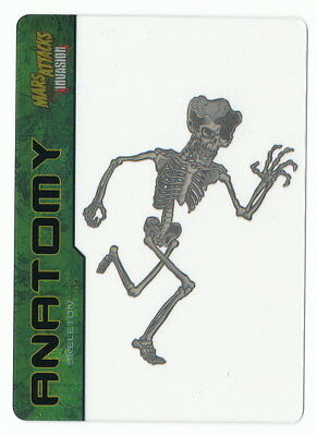 2013 Topps Mars Attacks Invasion Alien Anatomy #1 Clear Insert