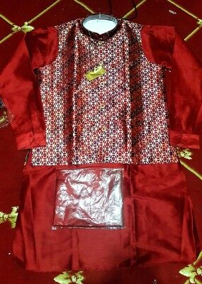 3Piece set,USA desi India Pakistan,Men Jacket Vest Kurta Pajama,Waistcoat,kurta