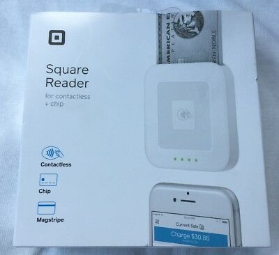 Square Reader For Contactless and Chip Brand New Sealed