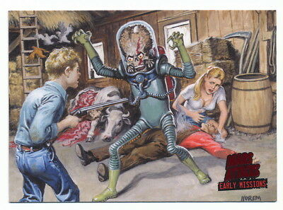 2013 Topps Mars Attacks Invasion Early Missions #5 Private Zar's War