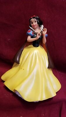 "Snow White Plastic Coin Bank 10 "" Tall Good Used Condition Disney Princess"
