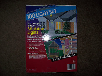 Intermatic 100 year round indoor/outdoor low voltage miniature light set NEW