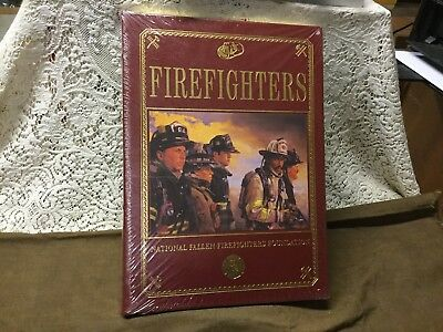 Firefighters, National Fallen Firefights Foundation,sealed, Deluxe Leather