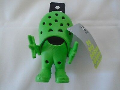 NWT!  CROCS Croslite Guy (Lime) Advertising Figurine