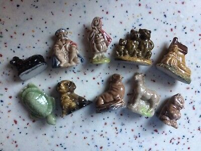 Lot of Wade Whimsies some Nursery