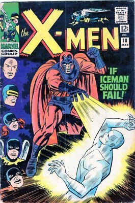 X-Men #18 (1966 Marvel Comics) Magento appearance Silver Age NO RESERVE!